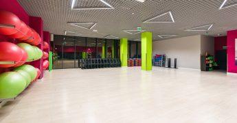 Sala fitness, trampoliny - Białystok