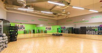 Sala fitness z trampolinami - Rzeszów Krakowska