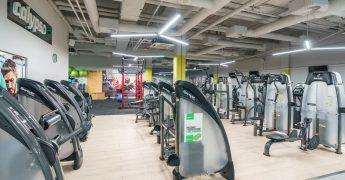 Exercise machines zone - Częstochowa Galeria Jurajska