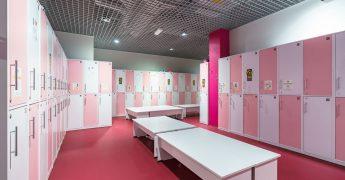 Women's changing room - Częstochowa Galeria Jurajska