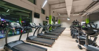 Cardio zone, treadmills - Ełk