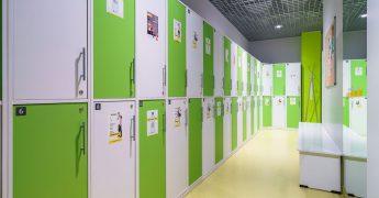 Men's changing room - Ełk