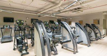 Exercise machines zone, cardio zone - Gdańsk Madison