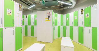 Men's changing room - Gdańsk Madison