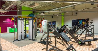 Functional training zone, exercise machnies zone - Konin