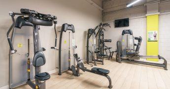 Exercise machines zone - Opole Turawa Park