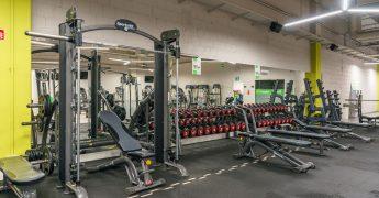 Free weights zone - Opole Turawa Park