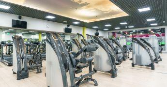 Exercise machines zone - Rumia
