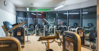 Exercise machines zone - Rzeszów Hetmańska