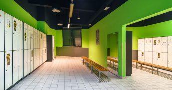 Men's changing room - Rzeszów Krakowska