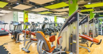 Exercise machines zone, cardio zone - Warszawa Adgar Plaza