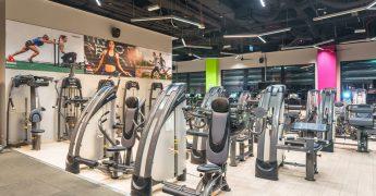 Exercise machines zone - Warszawa Focus