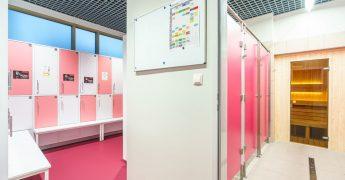 Women's changing room - Warszawa Targówek