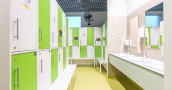 Men's changing room - Warszawa Targówek