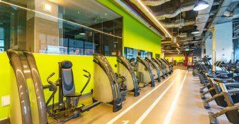 Exercise machines zone - Kraków Galeria Kazimierz