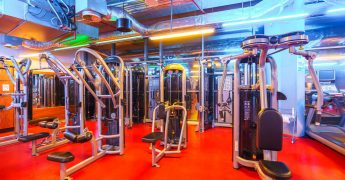Exercise machines zone - Bytom Agora