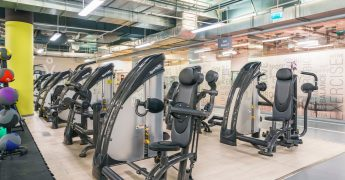 Exercise machines zone - Wrocław Renoma