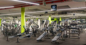 Cross training zone, exercise machines zone - Gdynia Klif