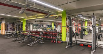 Free weights zone - Gdynia Klif