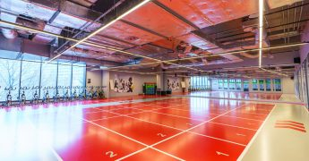 Fitness room - Katowice Supersam
