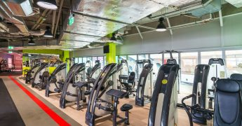Exercise machines zone - Katowice Supersam