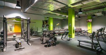 Free weights zone - Katowice Supersam