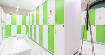 Men's changing room - Warszawa Ursynów