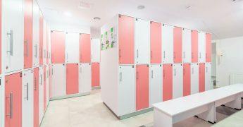 Women's changing room - Wrocław Tęczowa