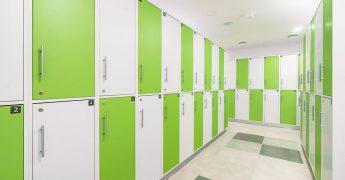 Men's changing room - Wrocław Tęczowa