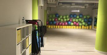 Sala fitness - Poznań Półwiejska
