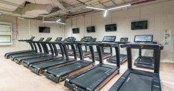 Cardio zone, treadmills - Poznań Półwiejska