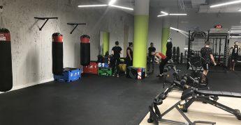 Strefa sztuk walki, strefa funkcjonalna - Poznań Półwiejska