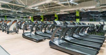 Cardio zone, treadmills - Czeladź