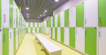 Men's changing room - Czeladź